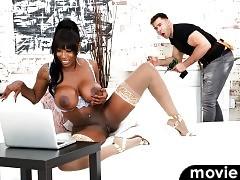 Ebony Anal Queens #02 - Ebony Goddess Mystique & Will Pounder